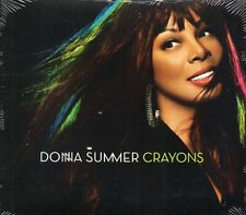 Donna Summer - Crayons (2008 CD) Feat. Ziggy Marley (New & Sealed)