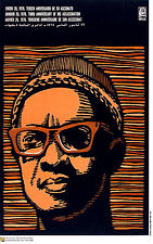 Political cuban POSTER.AMILCAR CABRAL.Africa Freedom.36.Socialist History art