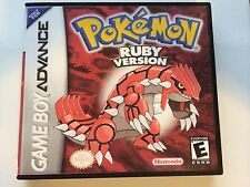 Pokemon Ruby - GBA - Replacement Case - No Game