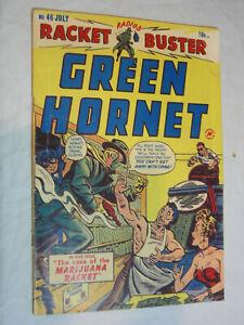 Green Hornet #46 G- The case of the marijuana racket WOW