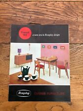 More details for 1963 remploy dining furniture colour brochure