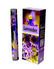 Darshan Lavender Räucherstäbchen - Packung mit 6 x 20 = 120 Sticks