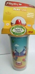 NEW Playtex PLAY TIME Insulated Spout Sippy Cup 9 Oz BPA FREE