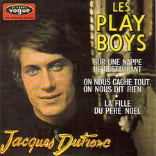 CD Single Jacques DUTRONCLes plays boys EP REPLICA 4-TRACK CARD SLEEVE