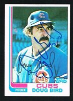 Doug Bird #273 signed autograph auto 1982 Topps Baseball Trading Card