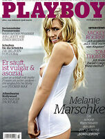 Playboy März/03/2009   Melanie Marschke von SOKO Leipzig*