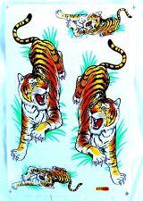 1Bg= AUFKLEBER Sticker Tribal Tiger  26,5x17,5 cm