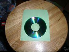 1000  GREEN CD PAPER SLEEVES w/ WINDOW & FLAP -  PSP60