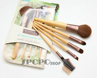 EcoTools 6PCs Bamboo Makeup Brush Set(New Package) Eco Tools 100% Authentic 1206