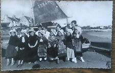 Carte postale ancienne Jeunes Groupe Folklorique des écoles publiques CPA