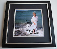 Petula Clark SIGNED Framed LARGE Square Photo Autograph display AFTAL & COA