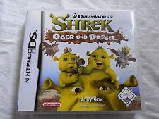 Nintendo DS - Shrek - Oger und Dresel - Dreamworks - USK 0 - Komplett!