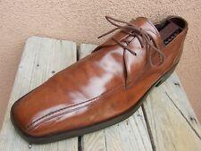 MEZLAN Mens Dress Shoes Cognac Brown Comfort Long Toe Lace Up Oxford Sz Size 11M