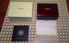 Nuovissima confezione (box)originale orologio Longines laccato