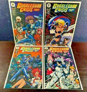 Dark Horse Manga BUBBLEGUM CRISIS Grand Mal 1 2 3 4 Complete Series 1-4 NM Comic