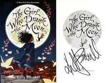 Kelly Barnhill~SIGNED IN PERSON~Girl Who Drank the Moon~1st Edition HC + Photos!