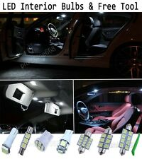 Interior Car LED Bulbs Light KIT Package Xenon White 6K For TOYOTA LAND CRUISER