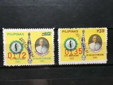 1982 PHILIPPINES (UP) College of Medicine 75th Anniv. Hand-Stamp SPECIMEN Stamps
