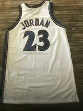 Michael Jordan 2001-02 Game Worn Washington Wizards Home Jersey Miedema LOA HOF
