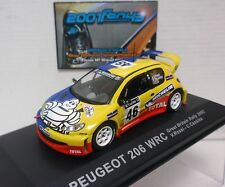 PEUGEOT 206 WRC #46 ROSSI GREAT BRITAIN RALLY 2002 1/43 ALTAYA