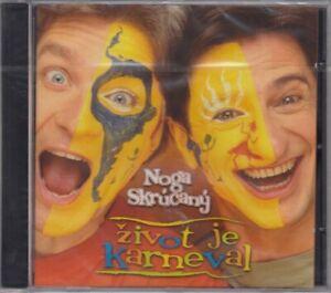 NOGA & Skrúcany Život Je Karneval CD Album 2002 RAR & NEUWARE IN FOLIE Comed