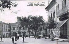 FIUGGI - Piazza Trento e Trieste, Nuovo Palazzo Comunale -ANIMATA - rif. 244 PI