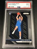 LUKA DONCIC 2018 PANINI PRIZM #280 ROOKIE RC MINT PSA 9 DALLAS MAVERICKS NBA