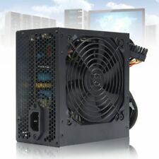 650W PSU ATX 12V Gaming PC Power Supply 24Pin / Molex / Sata 650 Walt 12CM  AU