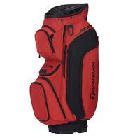 TaylorMade Supreme Cart Golf Bag 2020  - Blood Orange/Black