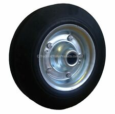 200mm Spare Wheel for Jockey Wheel - Steel Rim