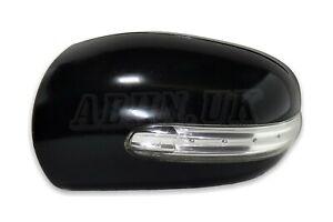 Mercedes C Class (04-07) Left Side Door Mirror Cover+Indicator 2038101764 Black