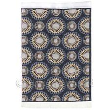 Dolls House Art Deco Small Rectangular Carpet / Rug (adnsr20)
