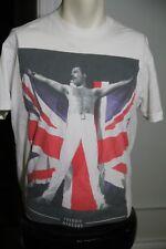 Queen Licensed Freddy Mercury Union Jack t-shirt MEDIUM 2014 Bohemian Rhapsody