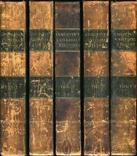 A Summary of Universal History by M. Anquetil - 9 vol,leather,1805-09