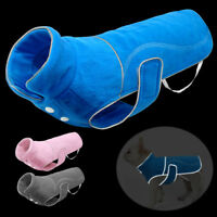 Reflective Dog Winter Clothes Small Large Dogs Windproof Pet Jackets Fleece Coat