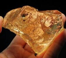 929.5Ct Natural Golden Champagne Topaz Specimen Rough YTZ757