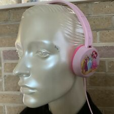 Disney Princess Girls Pink Headphones