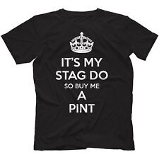 Stag Do T-Shirt 100% Cotton Keep Calm Night Party Batchelor Pussay Patrol