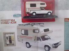 """CAMPING-CARS FRANÇAIS """"PEUGEOT 504 DANGEL-AZUR"""" (1983)-(1/43éme)."""