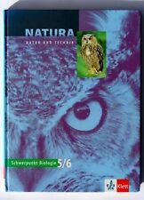 Schulbuch: Natur und Technik, Schwerpunkt Biologie, Gymnasium, 5. und 6. Klasse