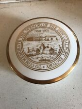 Pretty Coalport Trinket Box Commemorating The Opening Of New Factory 1975