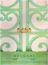 ▬► PUBLICITE ADVERTISING AD Montre Watch BVLGARI BULGARI 1994