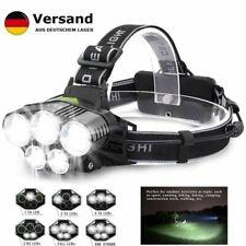 90000LM 5X CREE XM-L T6 LED Wiederaufladbar Stirnlampe Scheinwerfer Headlamp Kit