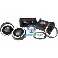 "ROCKFORD FOSGATE POWER T2T-S CAR 1"" 150W RMS ALUMINUM TWEETERS & CROSSOVERS NEW"