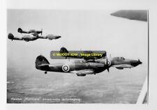 rp4045 - Hawker Hurricane Fighter Plane - photo 6x4