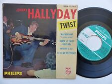 JOHNNY HALLYDAY Twist Wap dou wap 432724 BE Imprim colombey