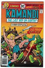 KAMANDI #44 (NM-) Keith Giffen Art! Ernie Chan Cover! DC 1976 Classic Issue