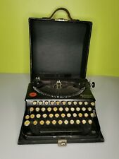More details for antique vintage remington portable typewriter with case 1920's working