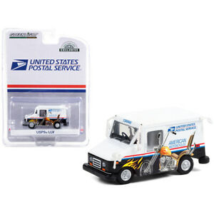 LLV (Long Life Postal Delivery Vehicle) White with Graphics United States Pos...