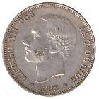 FALSA DE EPOCA: España 2 pesetas plata 1882 Rey Alfonso XII - Muy interesante